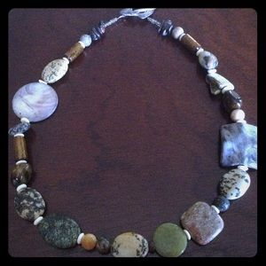 Jewelry - Mixed Stone Media Necklace